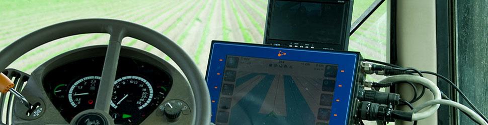 GPS systeem op de tractor